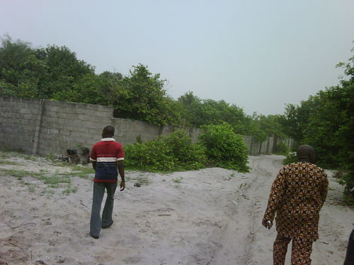 Okun Ajah Omoniles Patroling the area to see which land they can pass off as their on to resell to unsuspecting Buyers