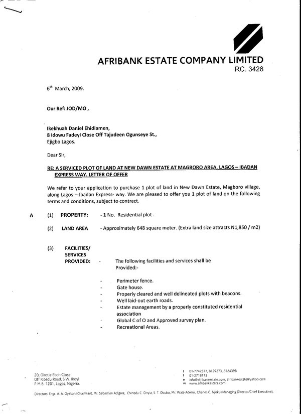 Is this offer letter is fake or real?