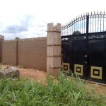 Take Possession of your land immediately by fencing it to prevent Omoniles from stealing your land