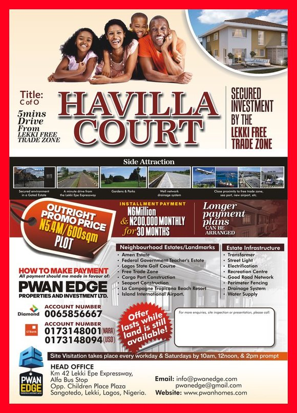 PWAN Estate Flyer