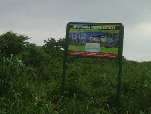 Real Estate Lands as advertised